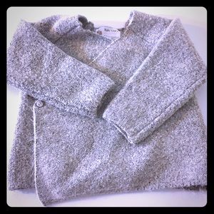 5/$25 Grey Fuzzy Sweater (Zara)